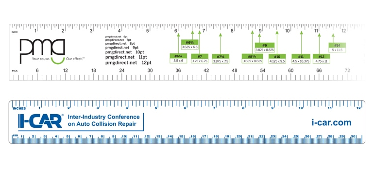 Custom Printed Palstic Prommotional Precision Rulers
